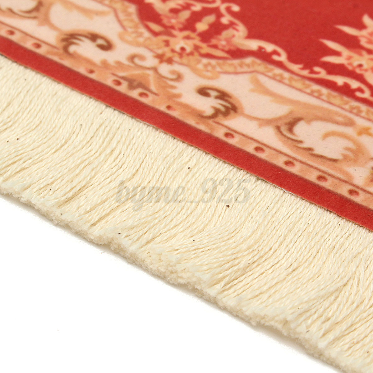 28x18cm Red Persian Style Mini Woven Rug Mouse Pad Carpet