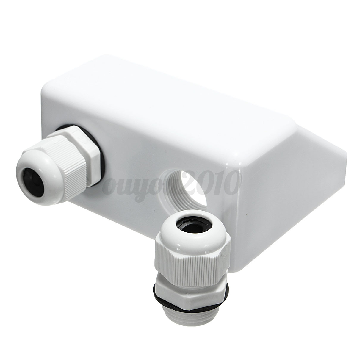 1 PCS Roof Solar Panel Cable Entry Gland Double Cable Gland Box For ...