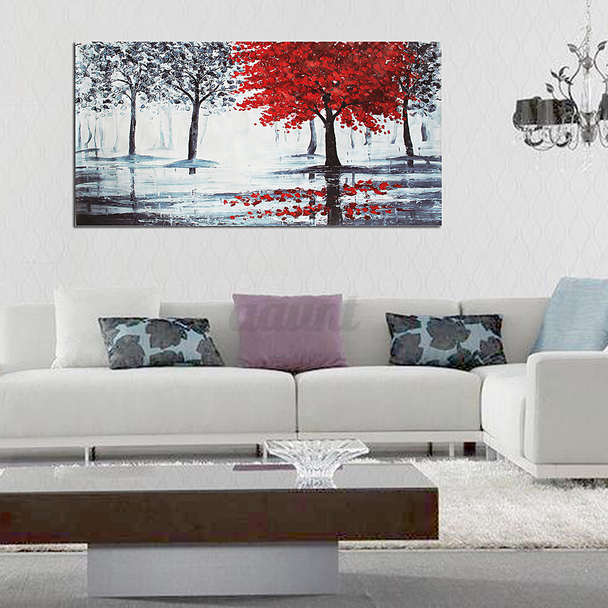 Modern Abstract Unframed Canvas Print Painting Picture Wall Mural ...