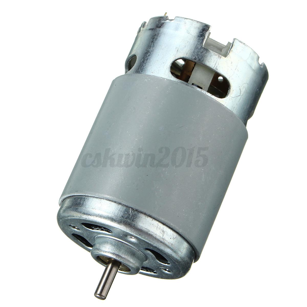 Dc 6-14.4v Rs-550 Motor para diversos Destornillador inal/ámbrico Makita Bosc Motors