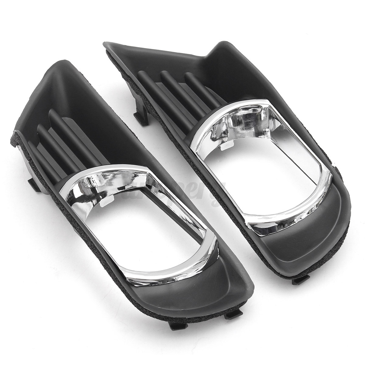 pair clear front bumper fog lights w cover switch for. Black Bedroom Furniture Sets. Home Design Ideas