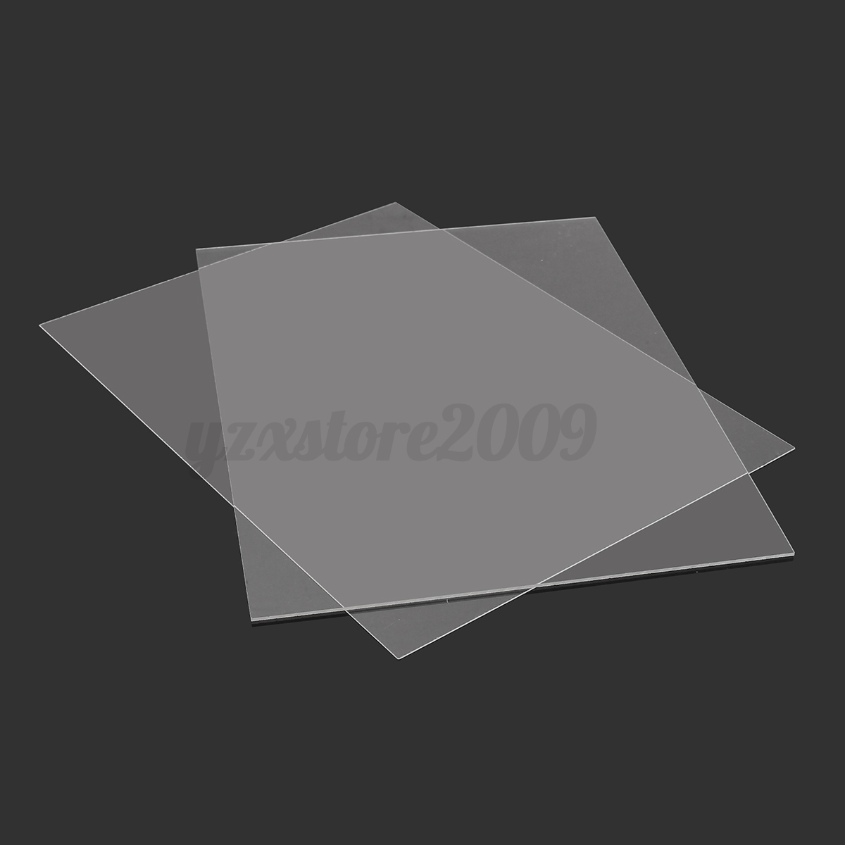 1 2mm transparent perspex sheet cut to size plastic. Black Bedroom Furniture Sets. Home Design Ideas