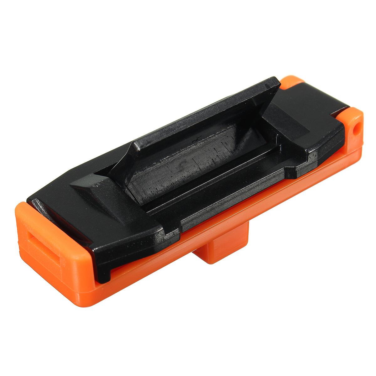 Car seat belt adjustable safety strap stopper plastic