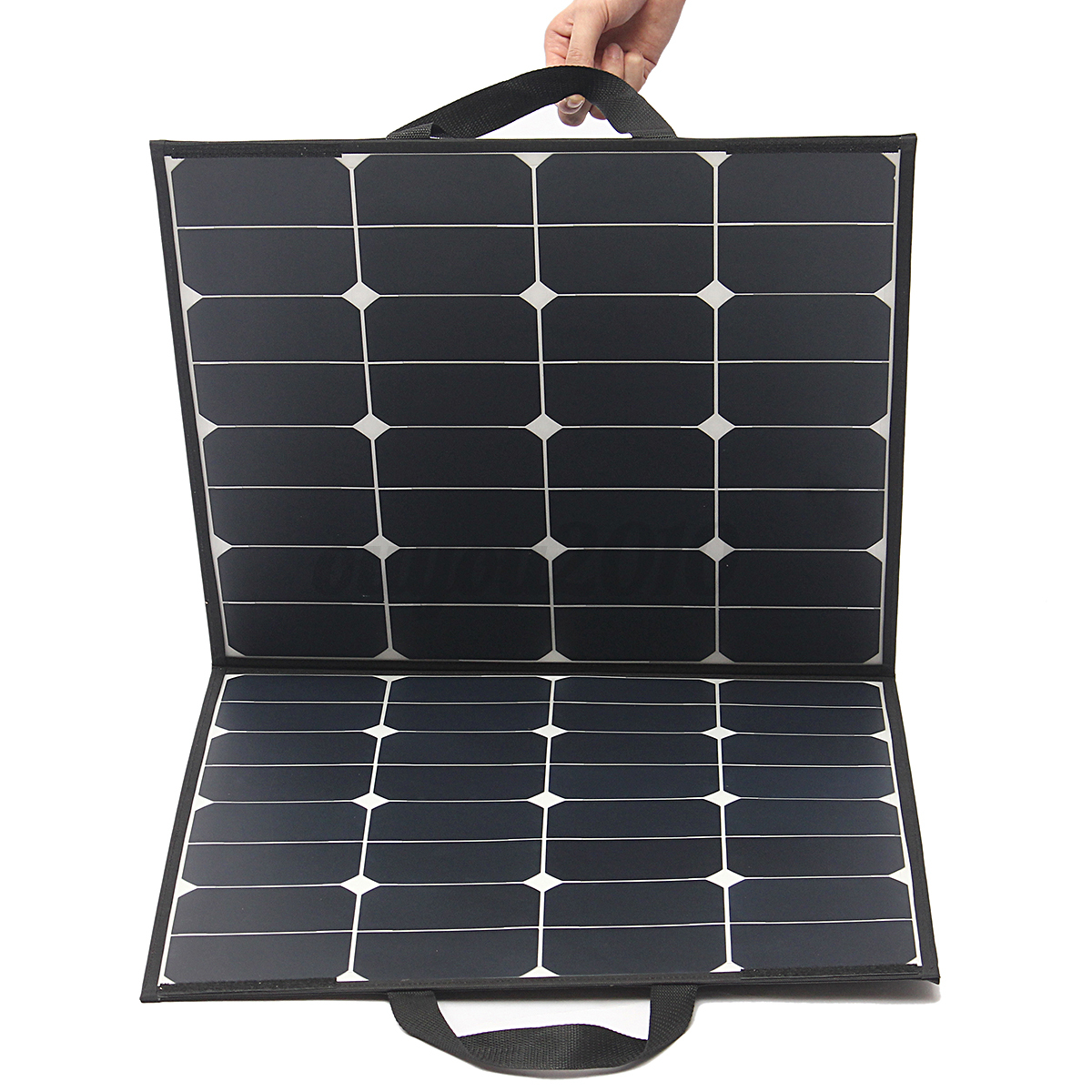 foldable 100w flexible monokristalline solarpanel. Black Bedroom Furniture Sets. Home Design Ideas