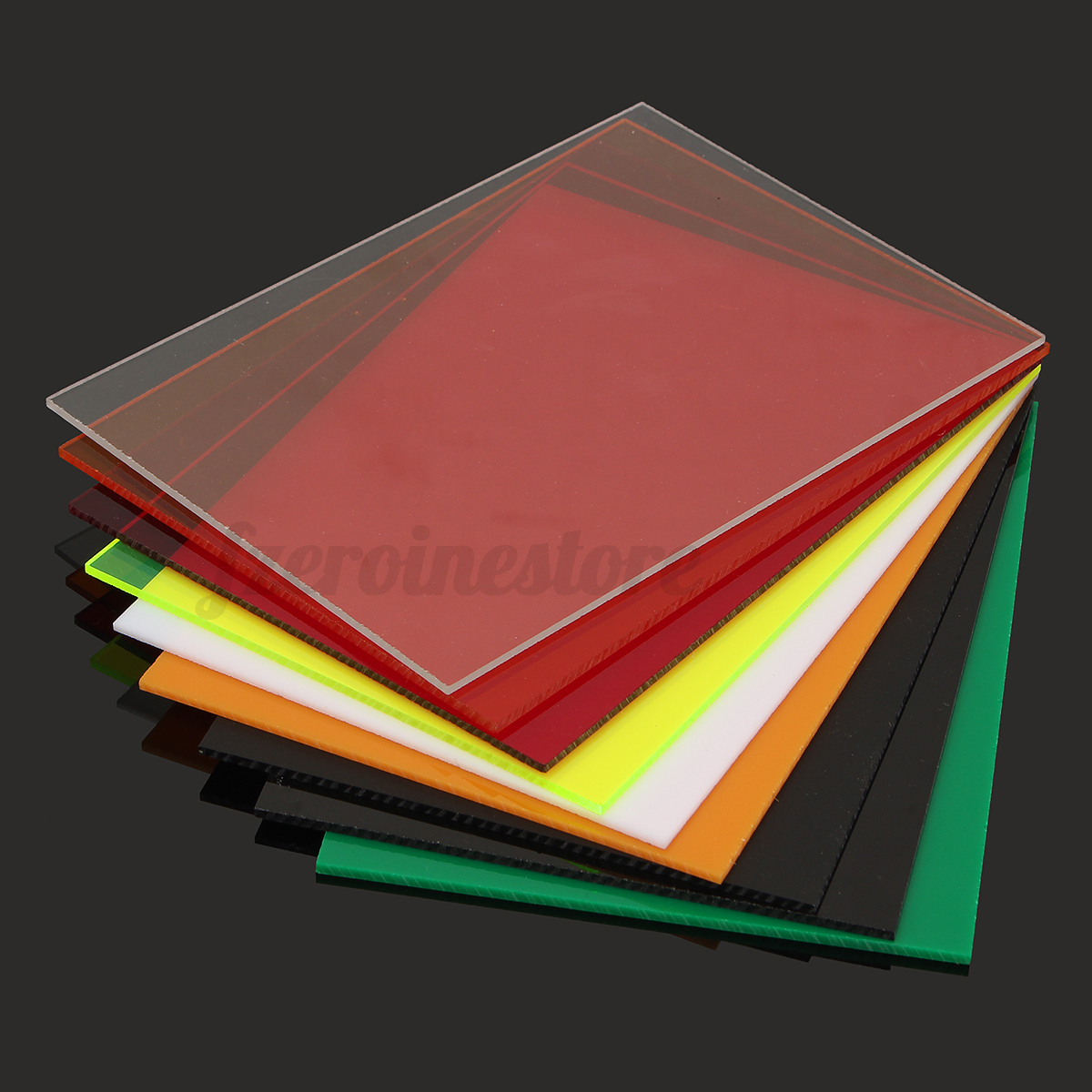acrylglas plexiglass zuschnitt perspex platte scheibe bunt 3mm versch gr en. Black Bedroom Furniture Sets. Home Design Ideas