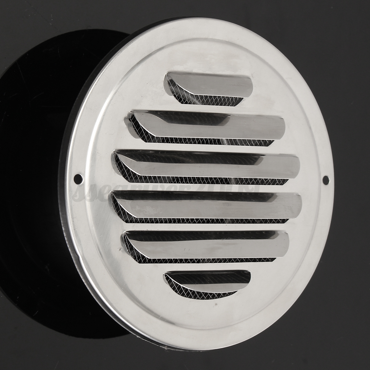 Stainless Steel Air Grille : Stainless steel circle air vent grille door ventilation