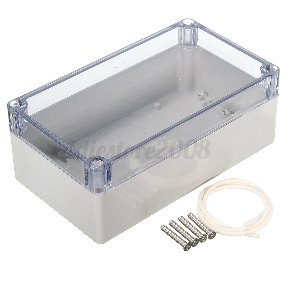 Waterproof Clear Cover Electronic Project Box Enclosure