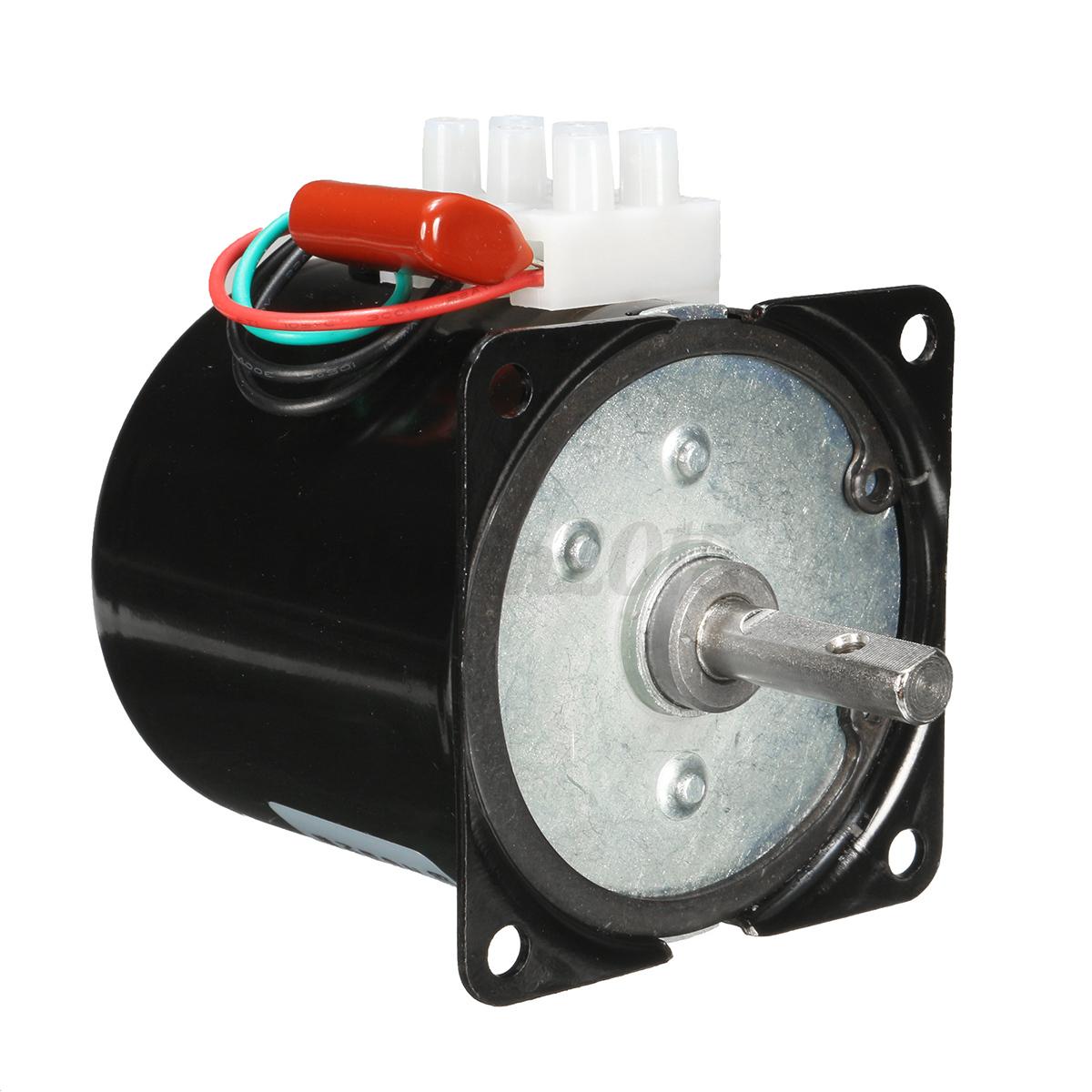 Ac 220v 60rpm A60ktyz Gear Box Electric Synchronous Motor
