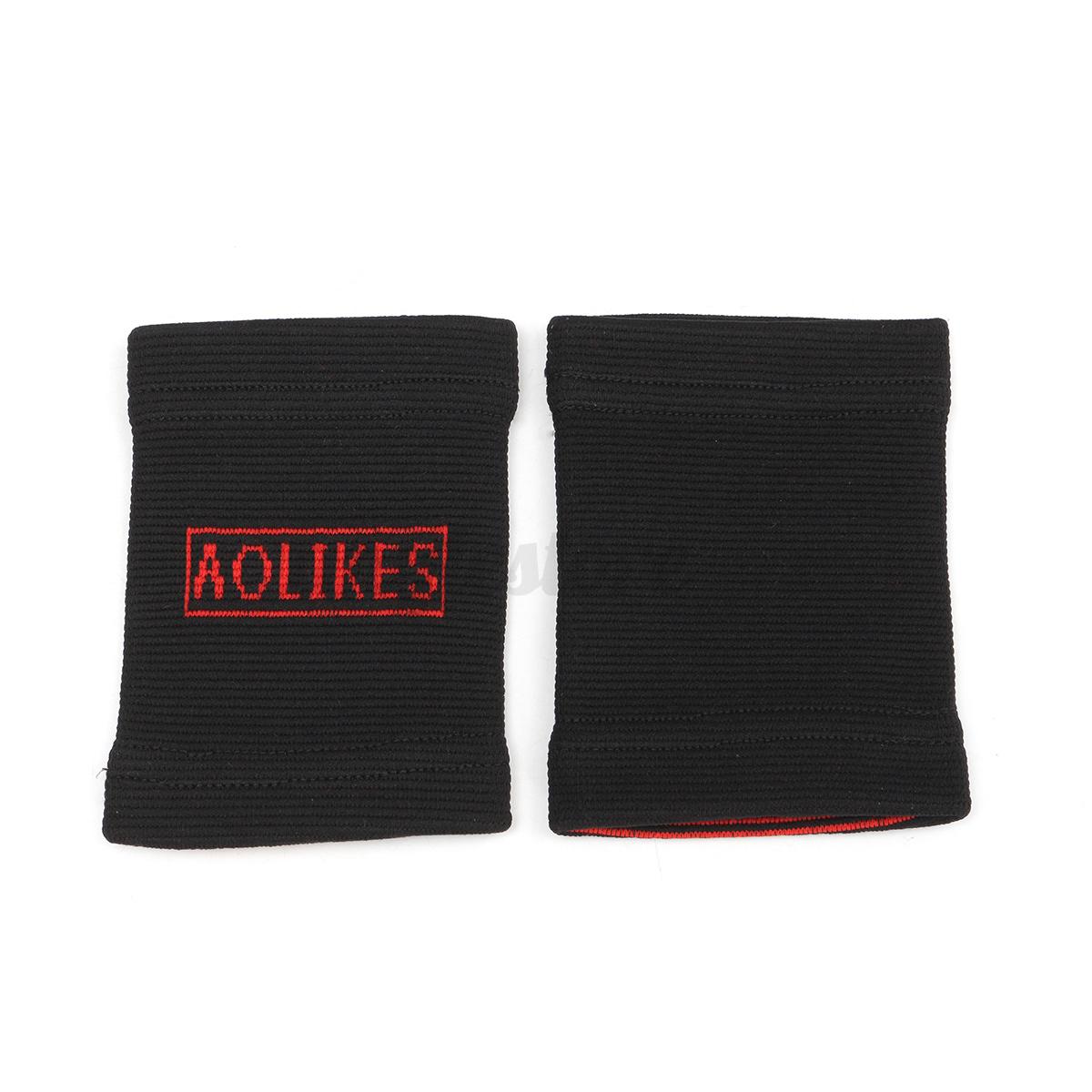 1 Pair Nylon Elastic Wrist Support Brace Strap Band Protector Injury Sport Gym 10