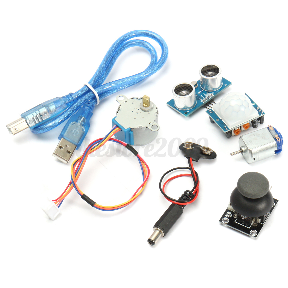 Ultimate learning starter kit for arduino mega