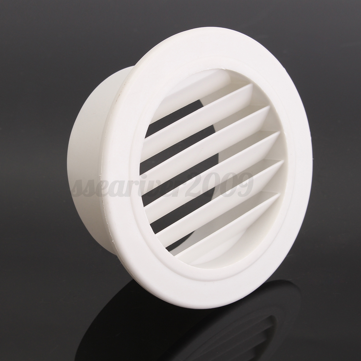 Air Ventilator Wall : Plastic air vent grille cover wall ventilation outlet