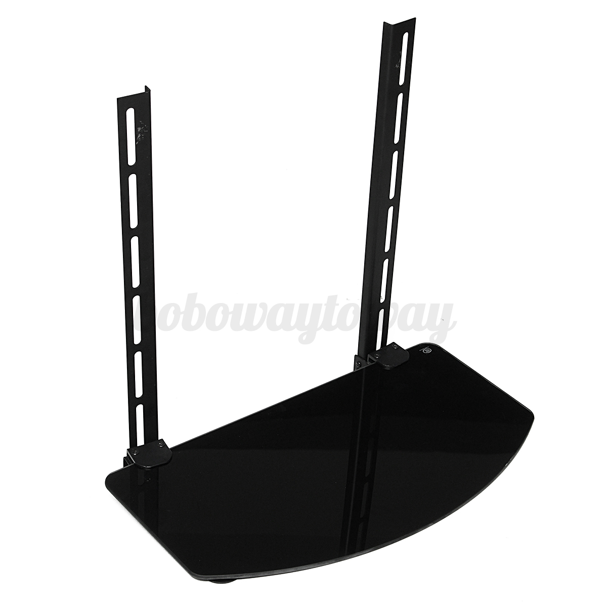 Réglable TV BOX DVD Hifi Routeur WIFI Support Mural Inclinable Pour