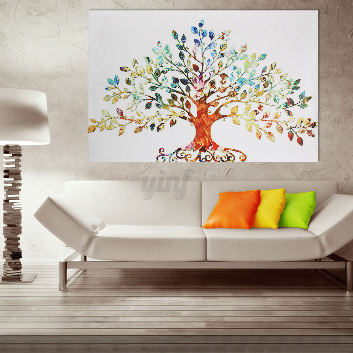 Multi Modern Abstract Canvas Print Painting Picture Wall