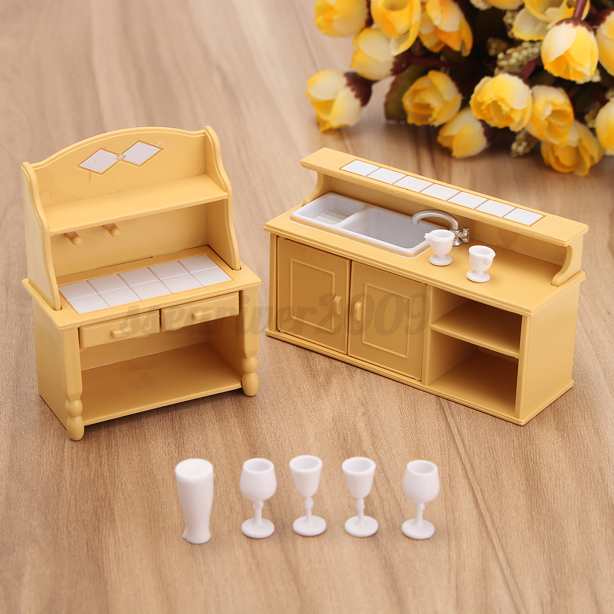 1 12 Scale Dollhouse Miniature Furniture Plastic Bunk Bed