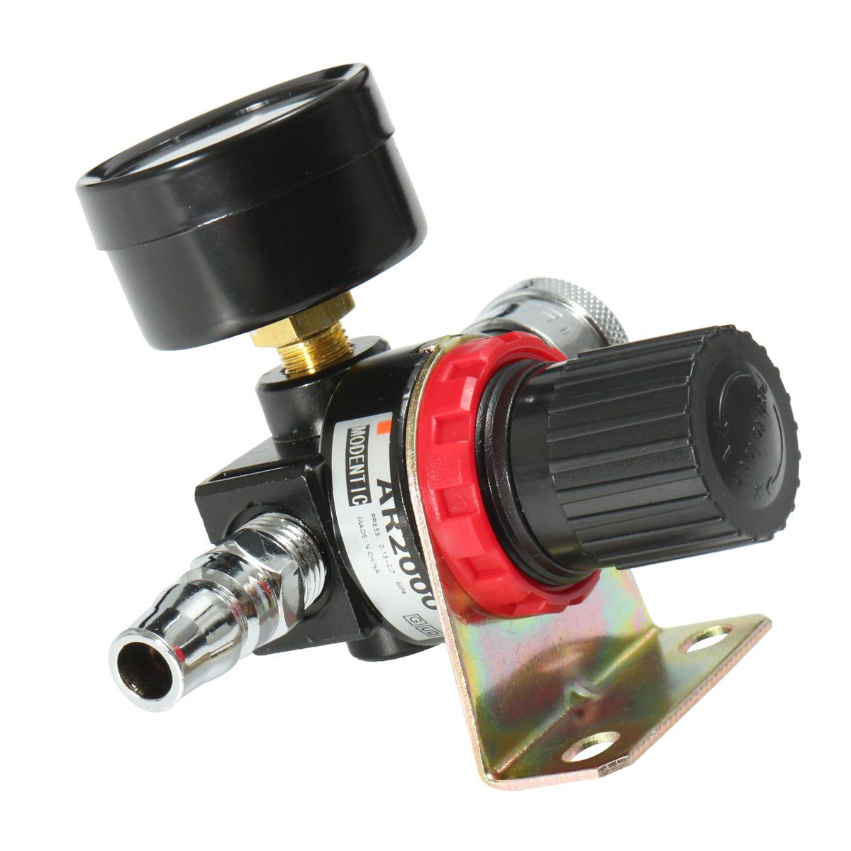 Ar air control compressor pressure gauge relief