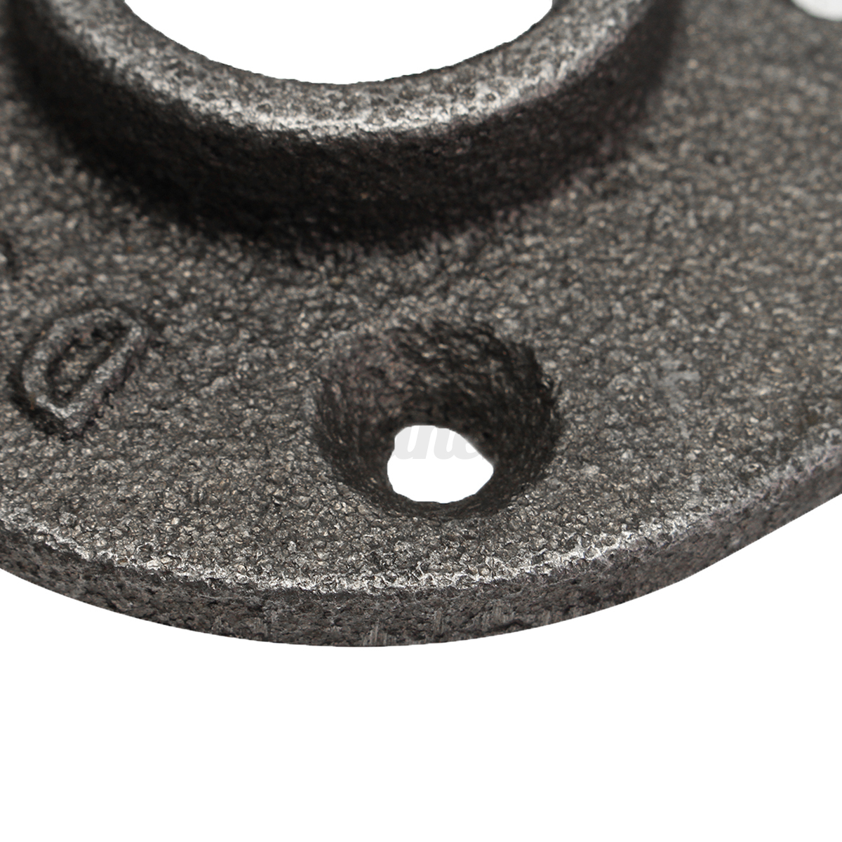 1 2 3 4 1 black malleable floor flange iron pipe for 1 in black malleable iron threaded floor flange