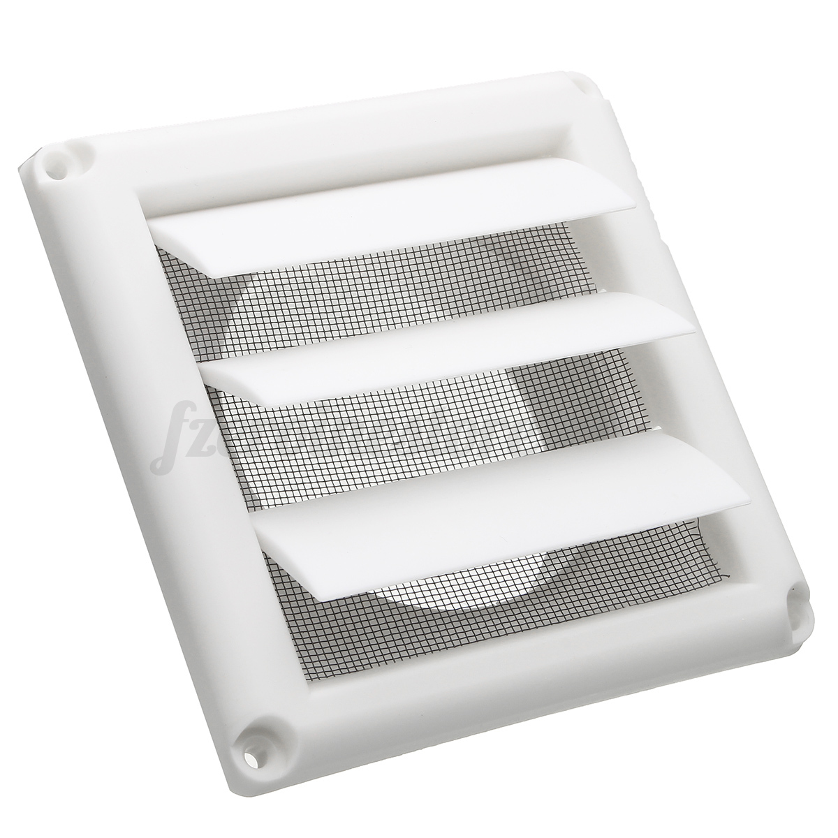 plastic air vent grille cover 3 gravity flaps wall ventilation grille with net ebay. Black Bedroom Furniture Sets. Home Design Ideas