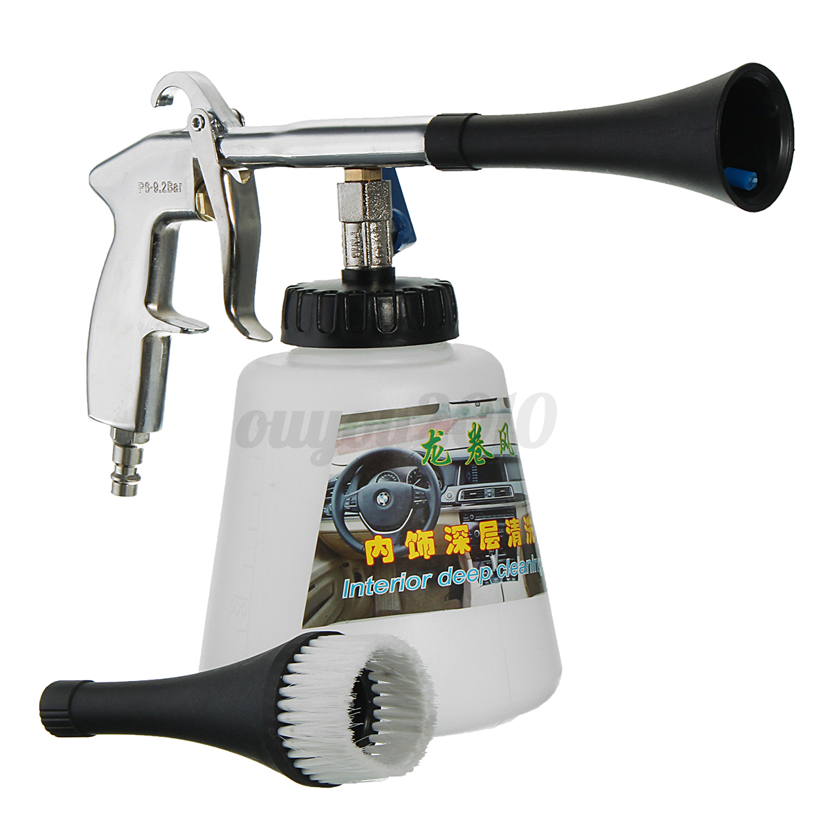 air pulse high pressure car cleaning gun surface interior exterior tornado tool 909982331112 ebay. Black Bedroom Furniture Sets. Home Design Ideas