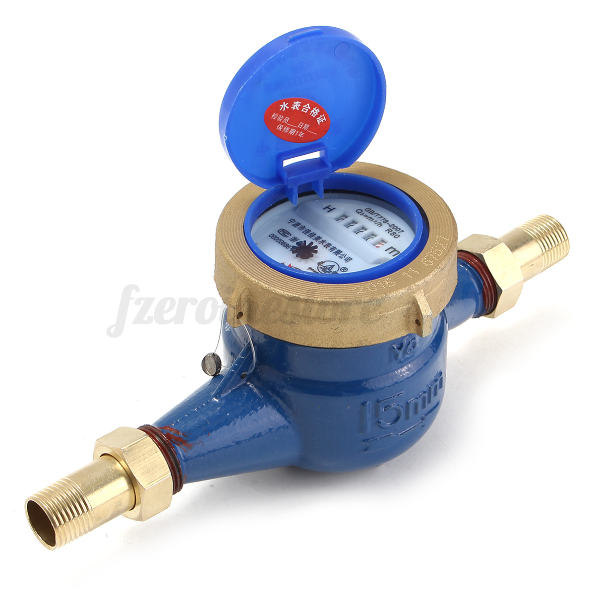 House Water Meter : Mm tape cold water meter copper counter home