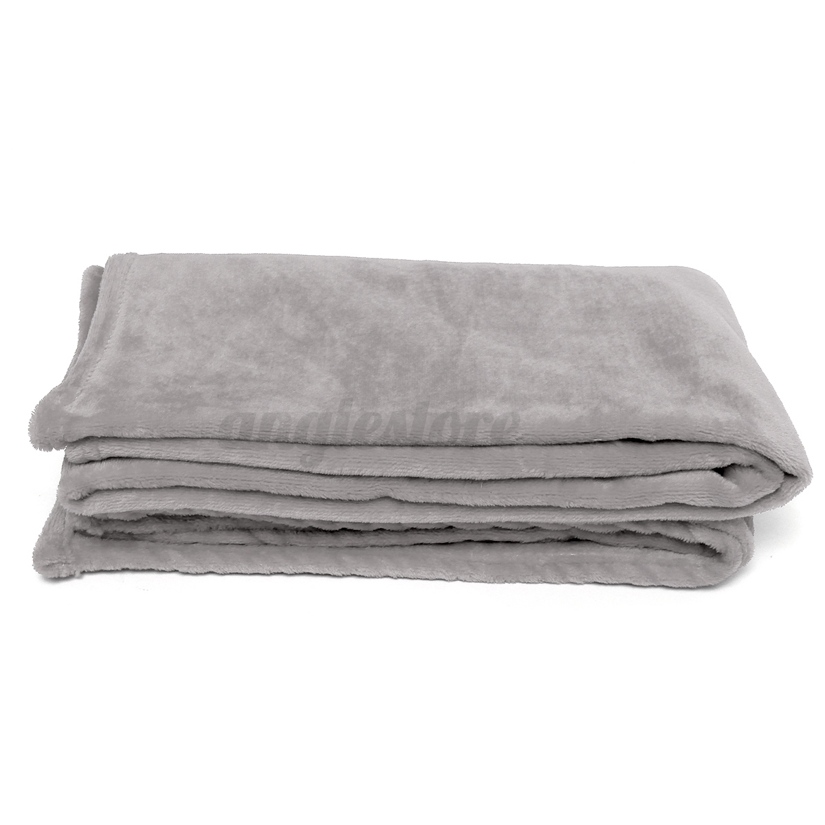 New soft solid warm micro plush flannel fleece blanket throw rug sofa bedding ebay Throw blankets for sofa