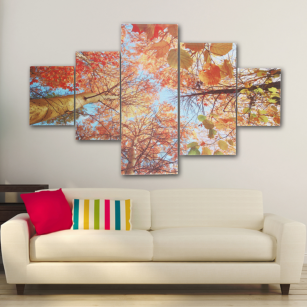 Modern colorful art canvas oil led painting picture print for Canvas mural painting