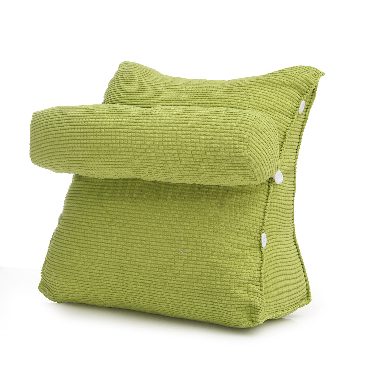 adjustable sofa bed office waist neck support back wedge cushion