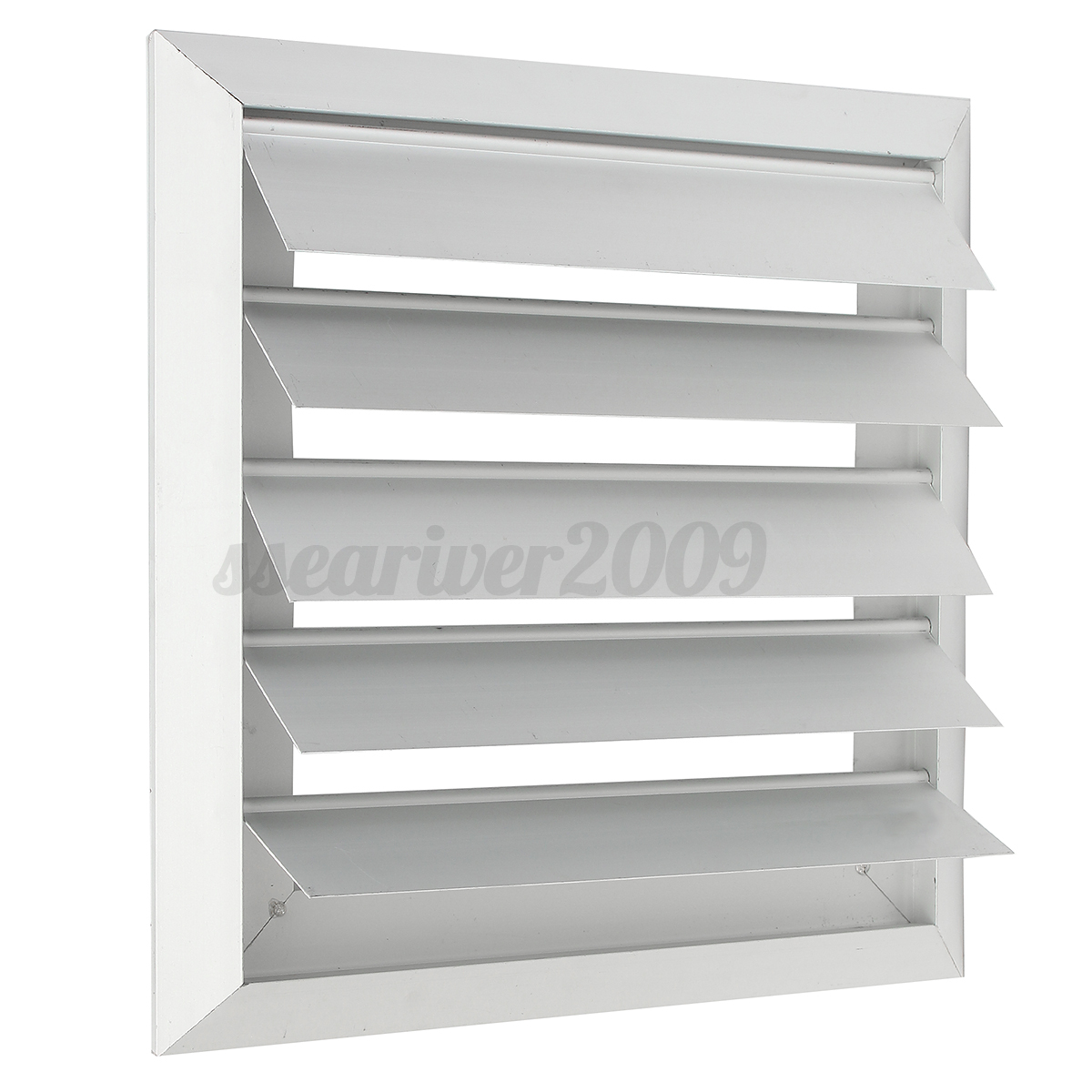 air vent grille cover 4 5 6 7 flaps wall duct ventilation louvre exhaust hood ebay. Black Bedroom Furniture Sets. Home Design Ideas