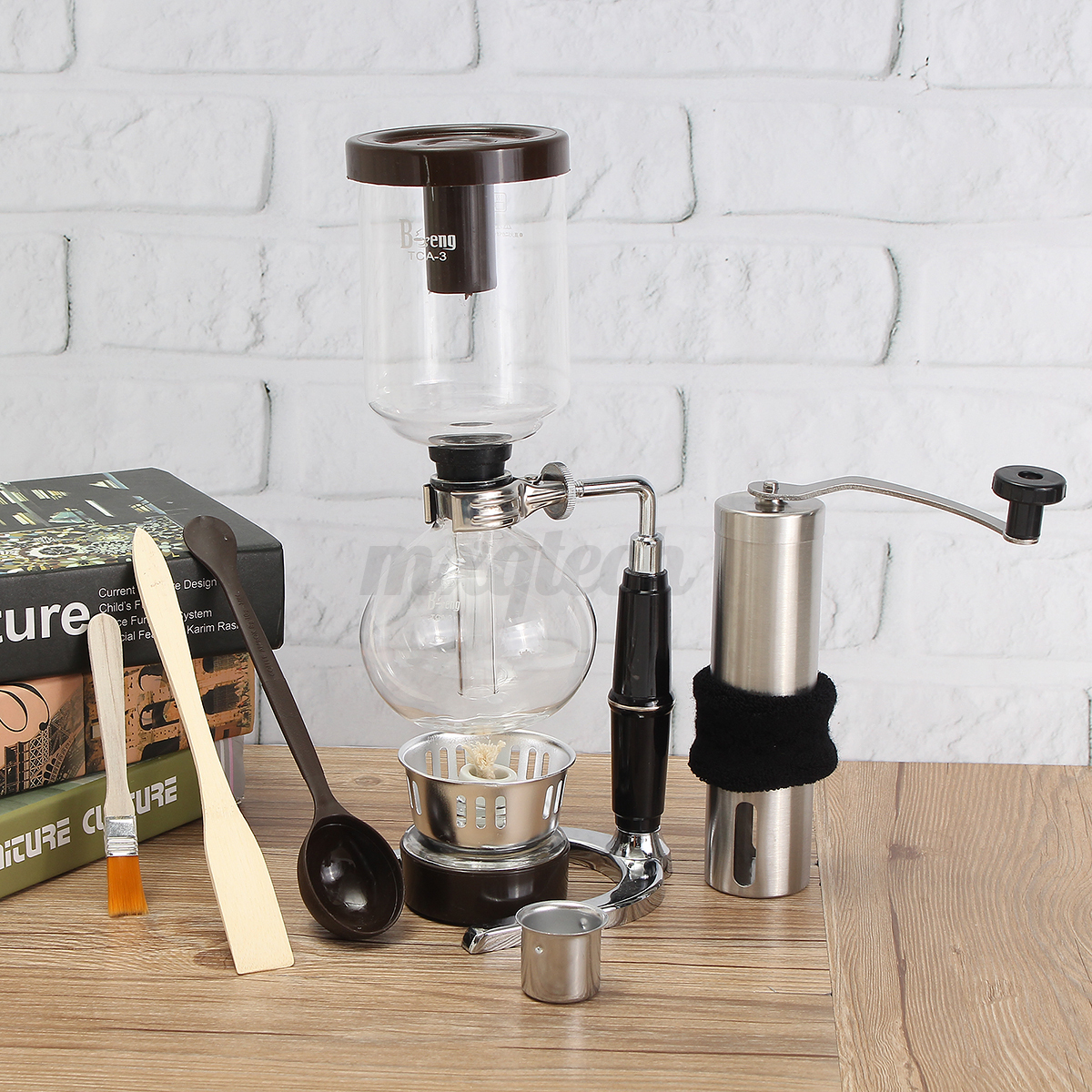 French Press Coffee Maker Manual : French Press Filters Coffee Maker Siphon Pot Stainless Steel Bean Grinder Manual eBay