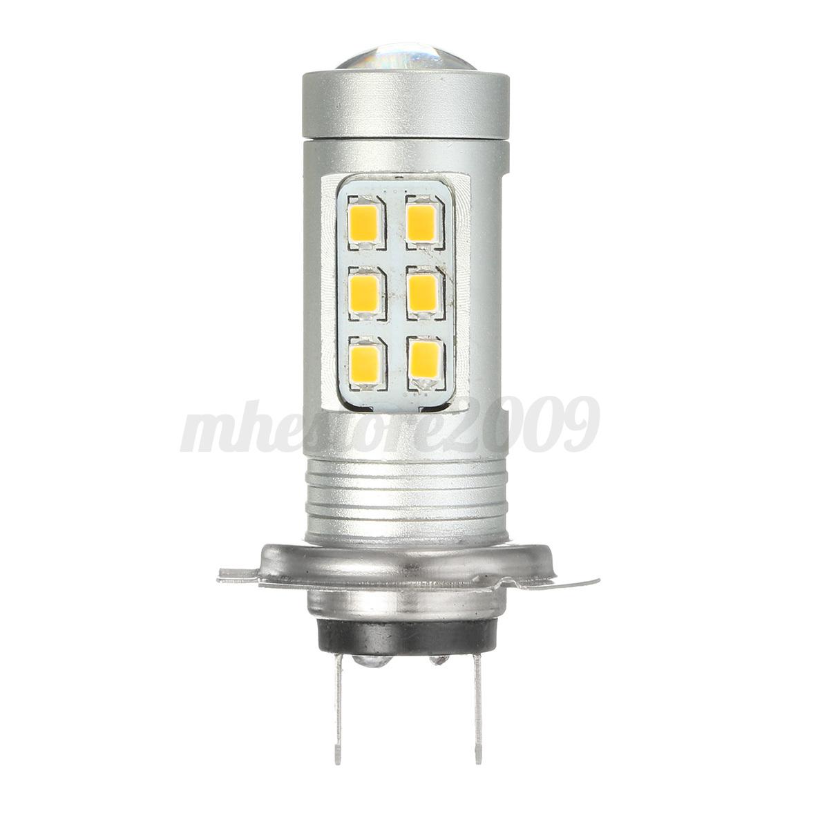 2x h7 h11 h16 9006 21 smd led car fog light bulb driving. Black Bedroom Furniture Sets. Home Design Ideas