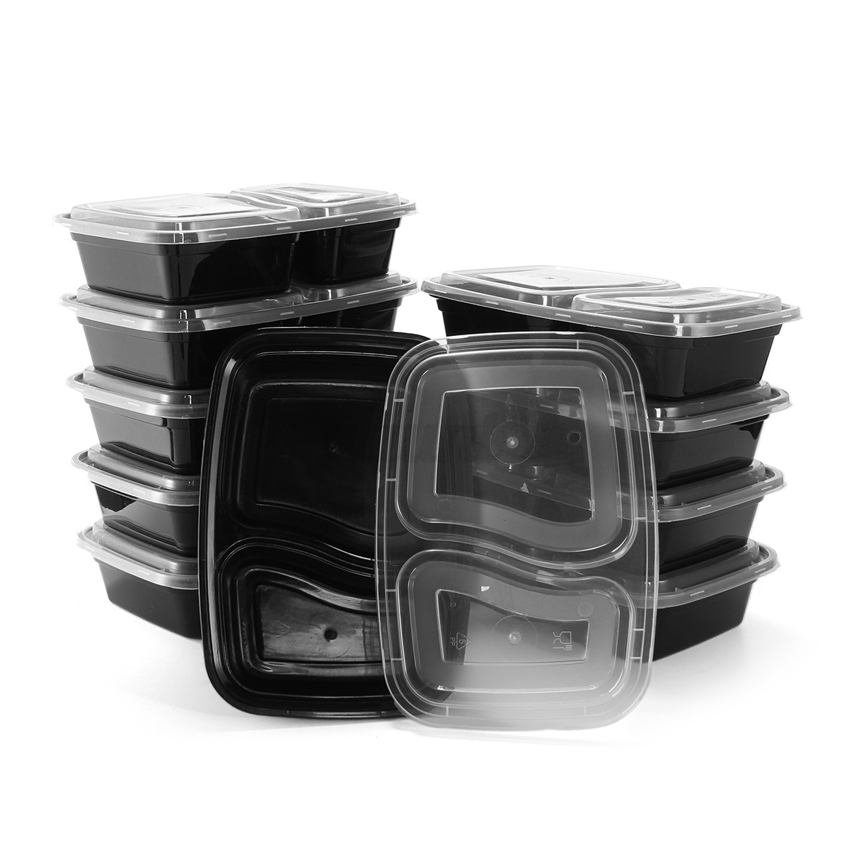 15type takeaway safe food container meal storage microwave plastic lunch box lid ebay. Black Bedroom Furniture Sets. Home Design Ideas