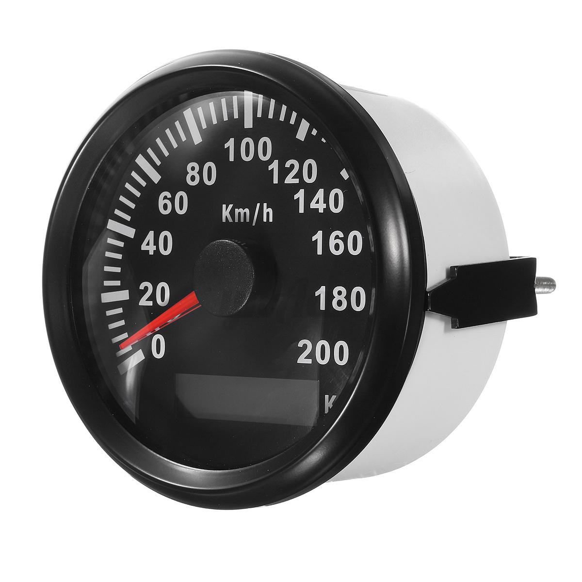 auto motorrad tachometer ip67 200km h gps digital tacho. Black Bedroom Furniture Sets. Home Design Ideas