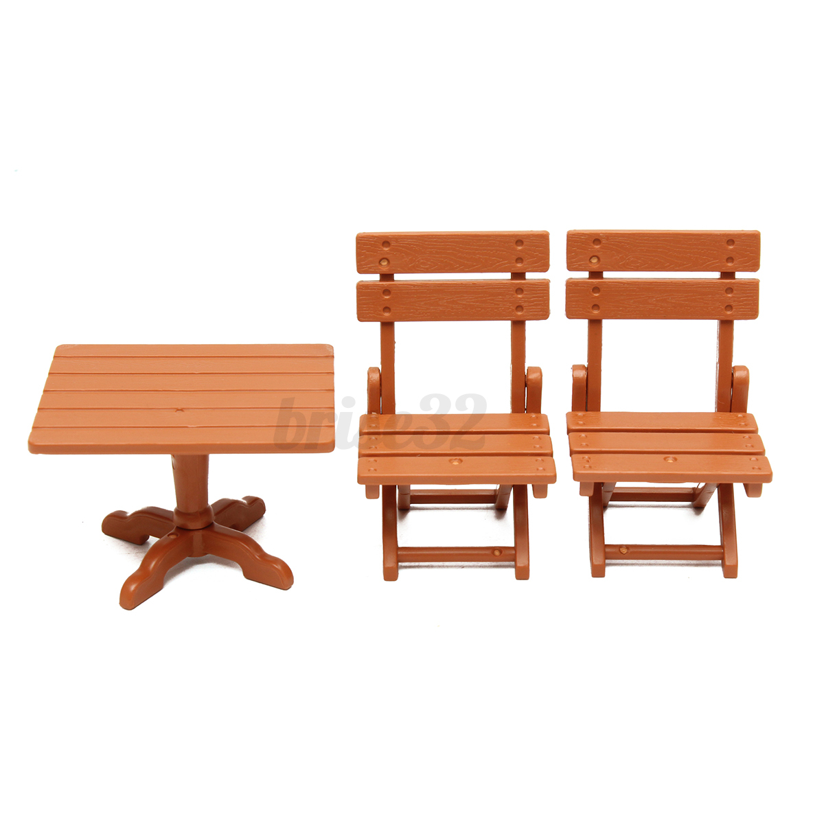 Plastic Dining Table Miniature Kitchen Doll House Furniture Toy Set Gifts Decor Ebay