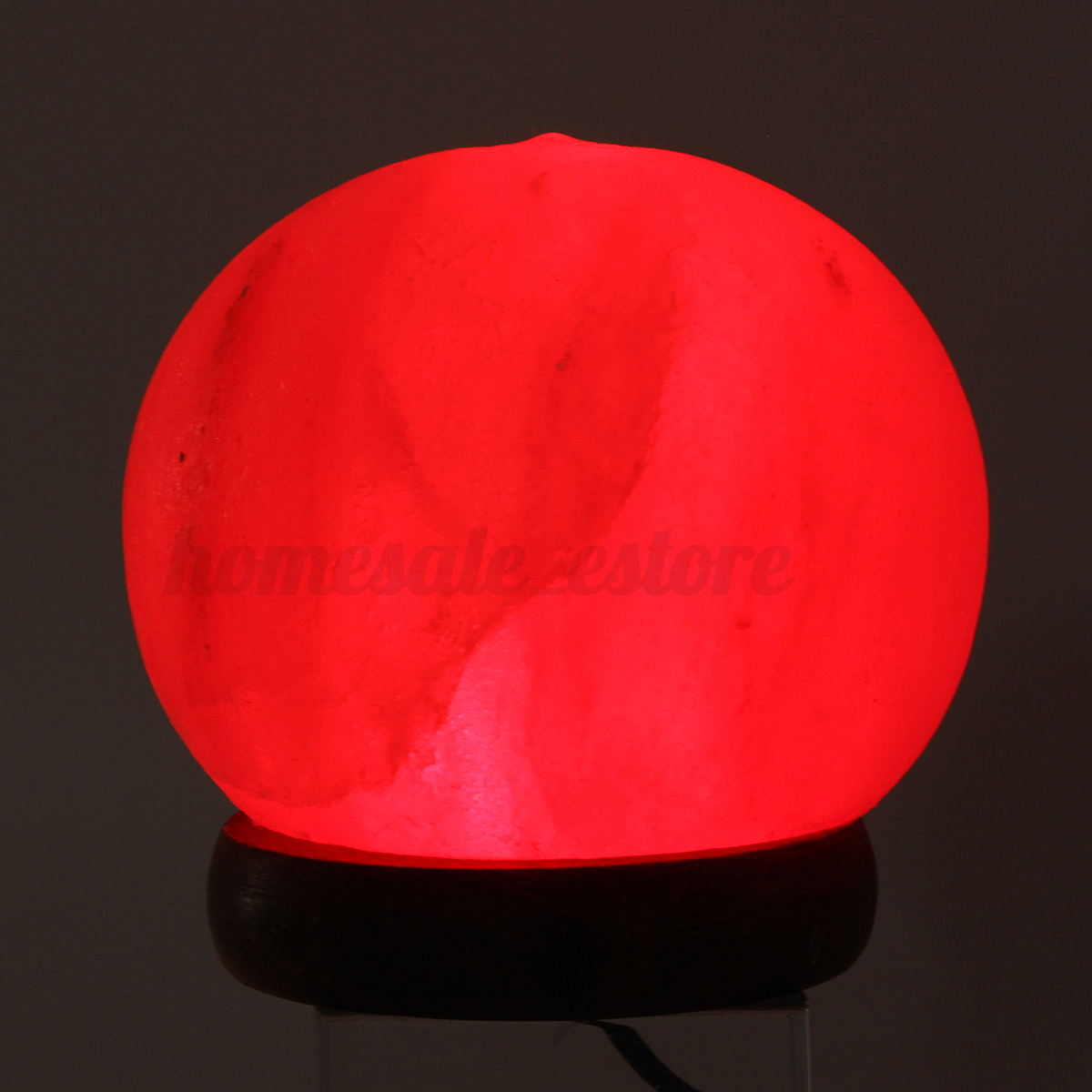 Himalayan Salt Table Lamp Crystal Rock Globe USB 7 Color Changing LED Lights eBay