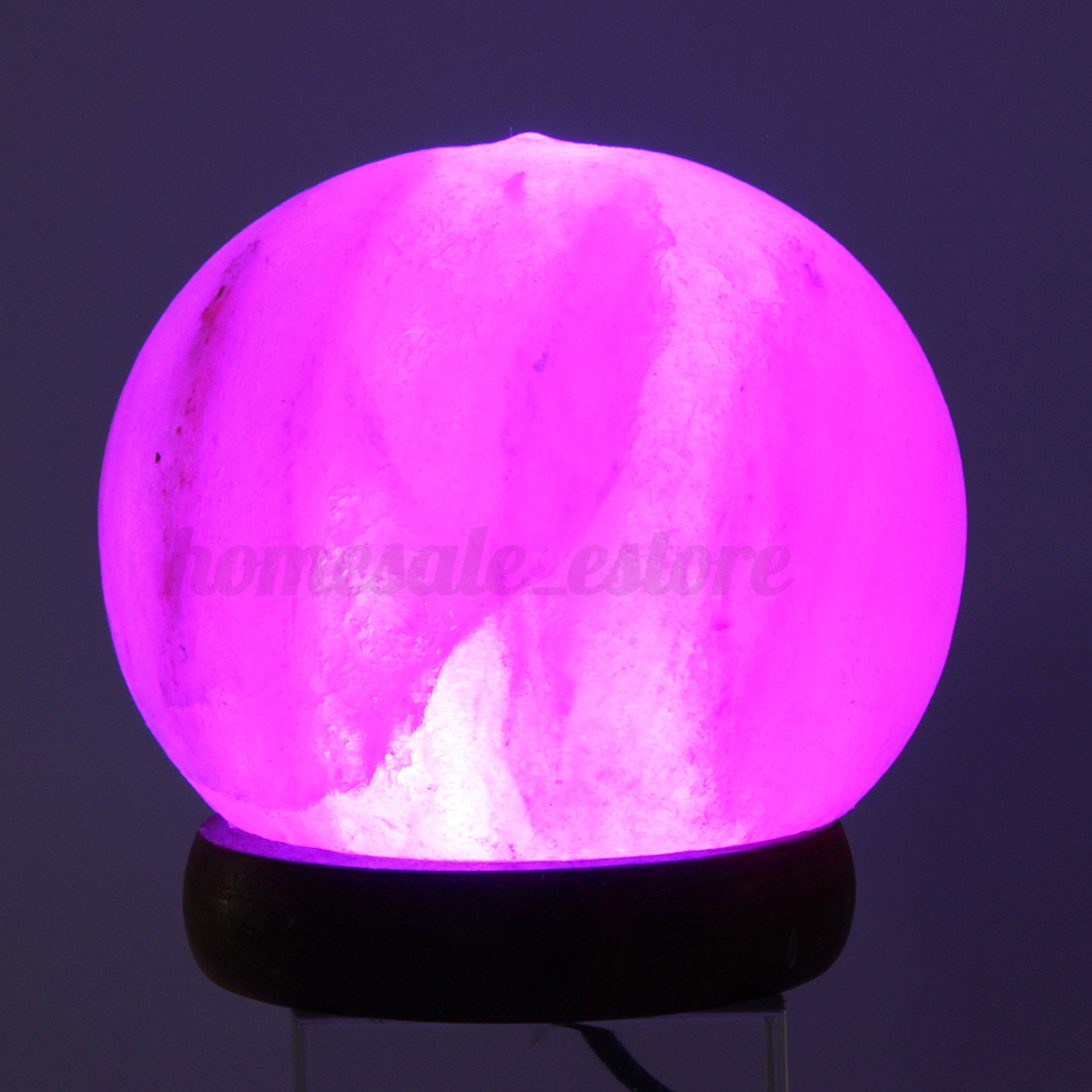 Placement Of Salt Lamps : Himalayan Salt Table Lamp Crystal Rock Globe USB 7 Color Changing LED Lights eBay