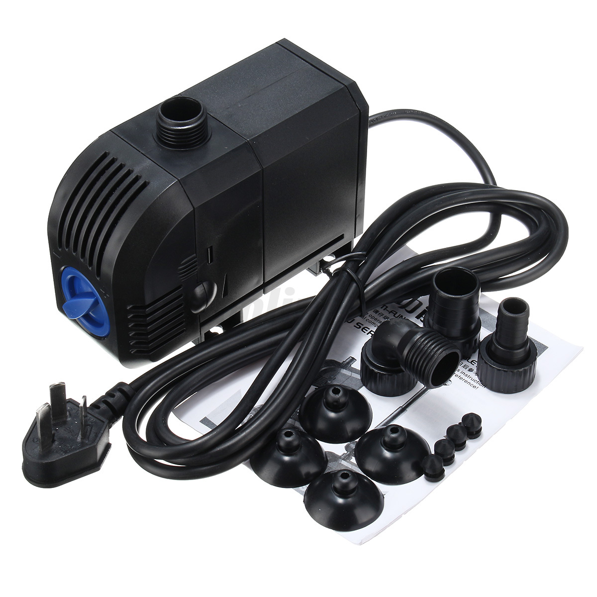 Electric submersible aquarium fish tank pond water pump for Pond water pump