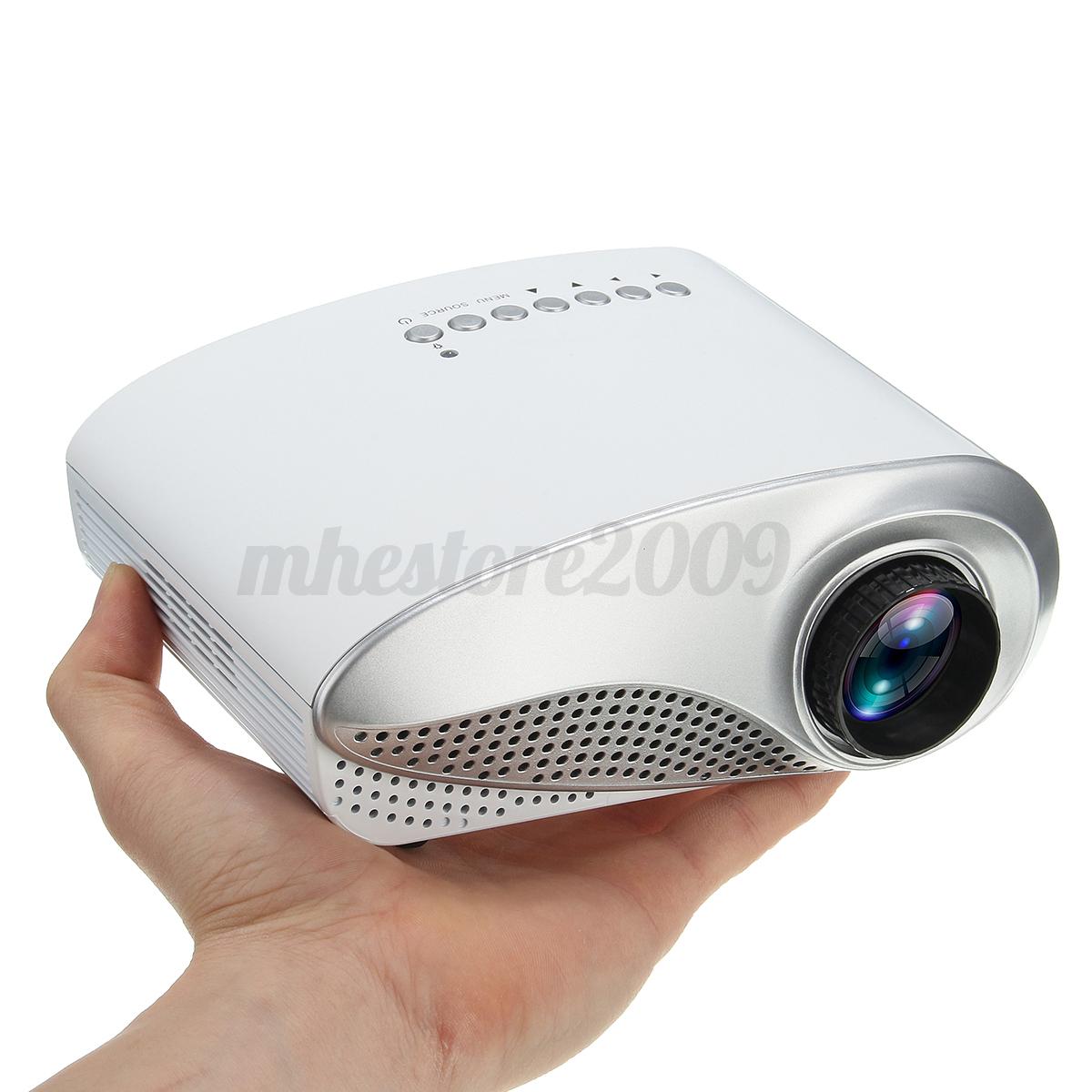 3D Full HD 1080P Mini Projector LED Multimedia Hom   in Electronics