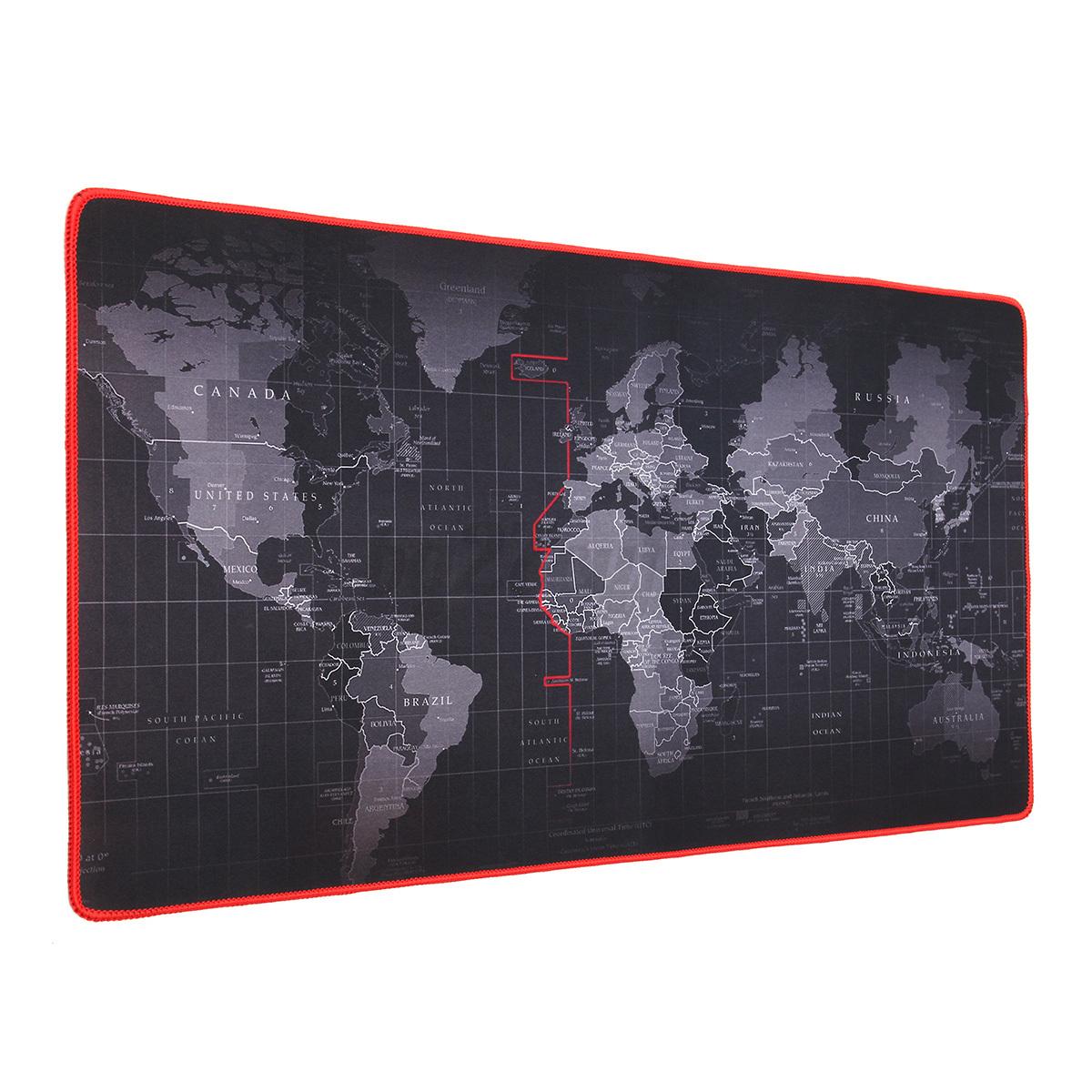 Large Mouse Pad Mat Laptop Computer Keyboard World Map Game Non - Us photo map mat