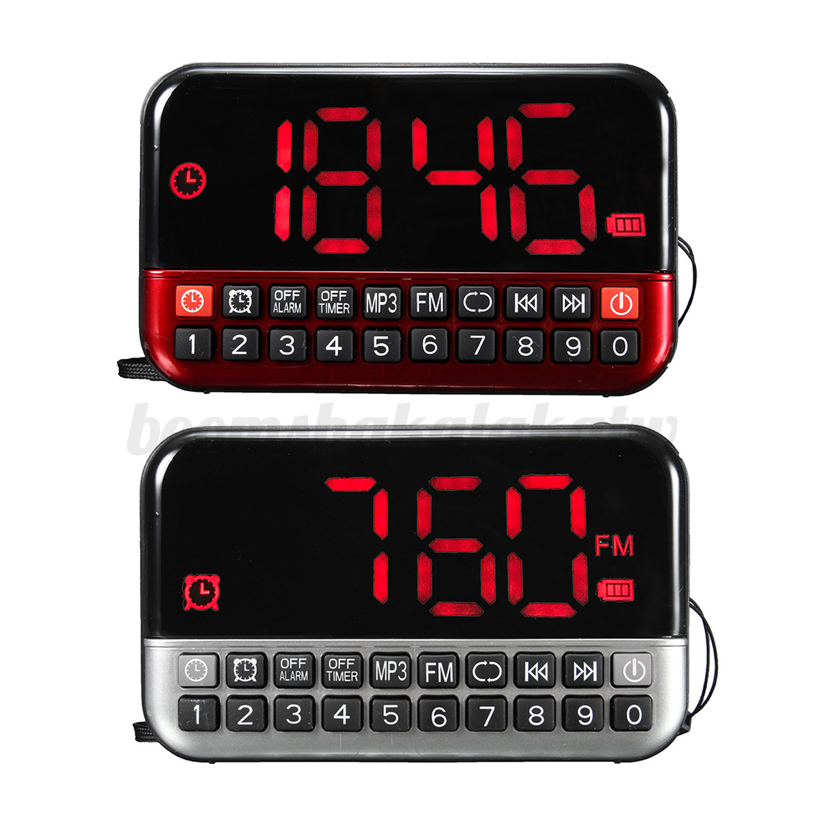 digital radio alarm clock mp3 digital fm radio alarm clock lcd screen music mp3 player digital. Black Bedroom Furniture Sets. Home Design Ideas