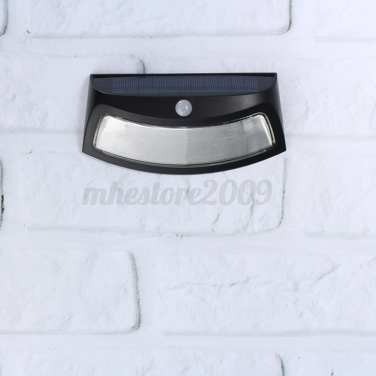 Waterproof LED Solar Step PIR Sensor Wall Light Garden Outdoor Lamp Warm White eBay