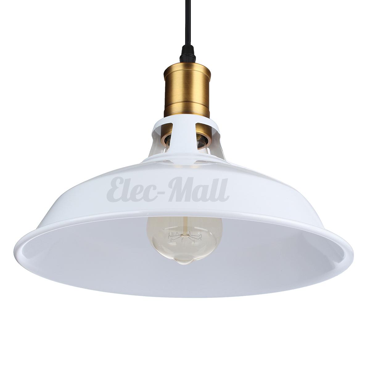 Retro modern ceiling chandelier industrial pendant metal for Metal hanging lights