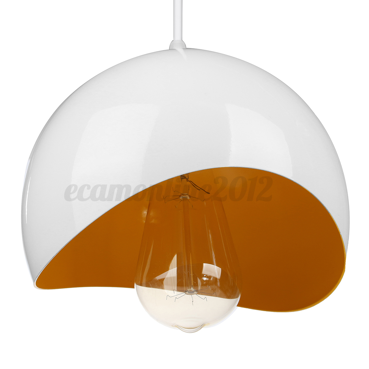Dome Ceiling Lights: Modern Dome Retro Ceiling Pendant Light Lamp Shade