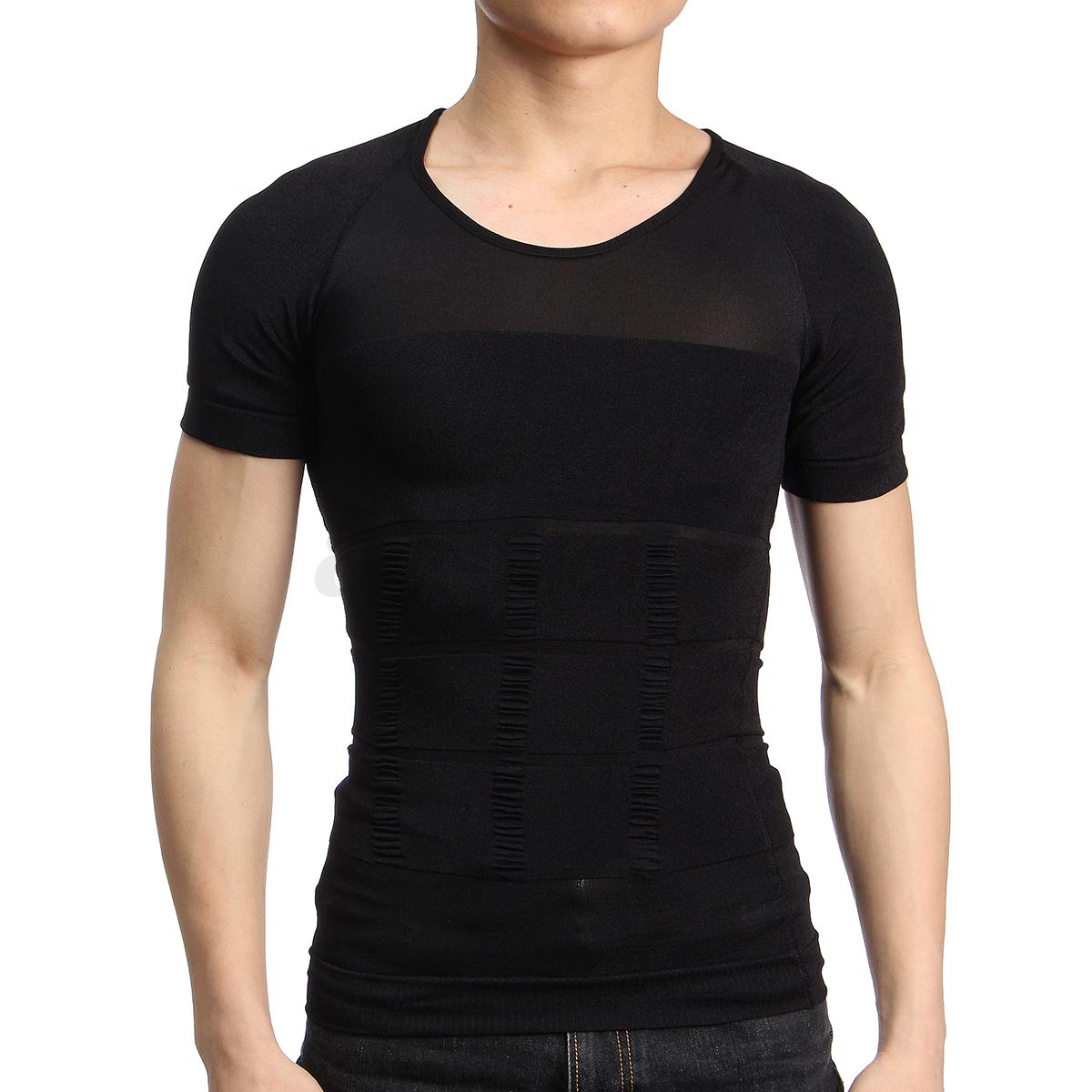 Mens Slimming T Shirts