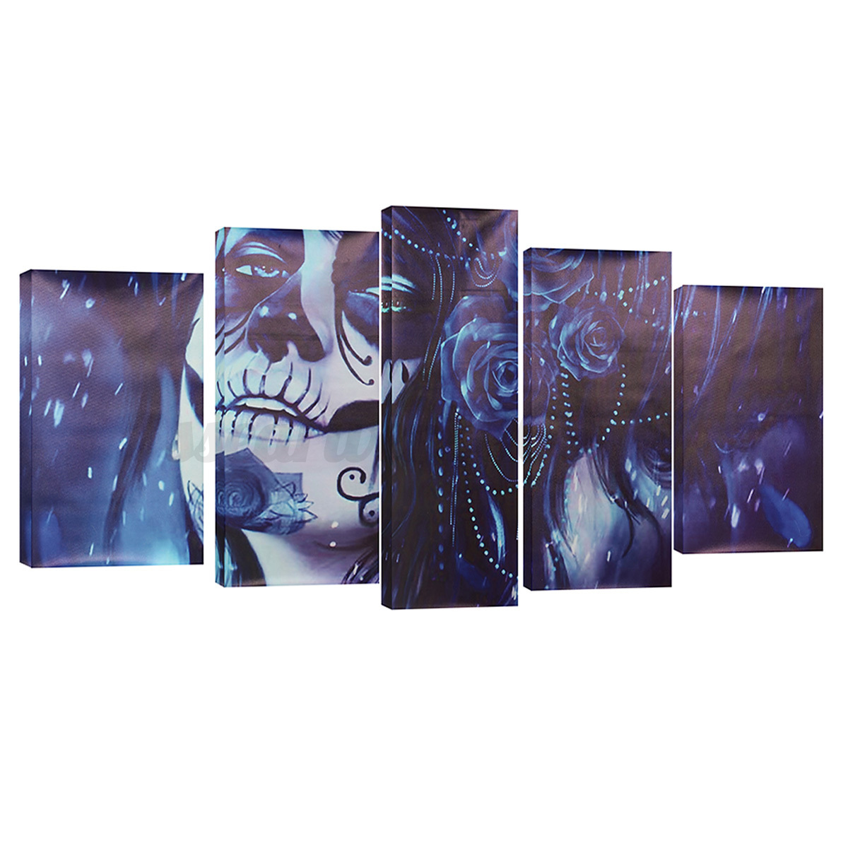 5pcs modern abstract canvas painting print picture wall art home decor no frame ebay - Canvas prints home decor photos ...