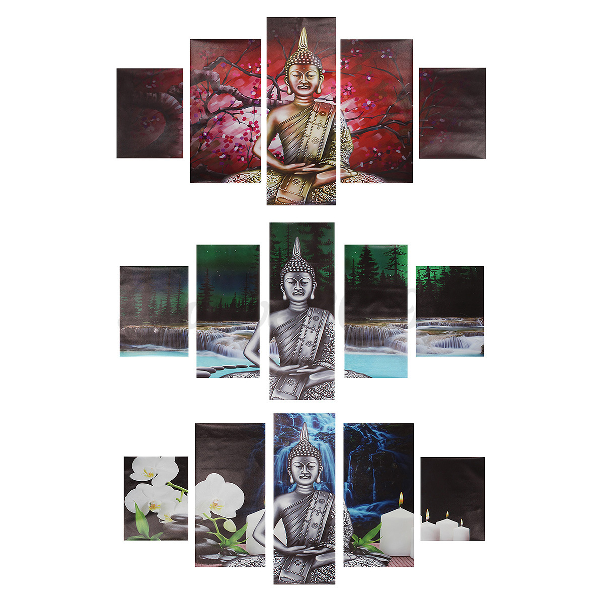 5pcs modern abstract canvas painting print picture wall art home decor no frame ebay - Home decor promo code paint ...