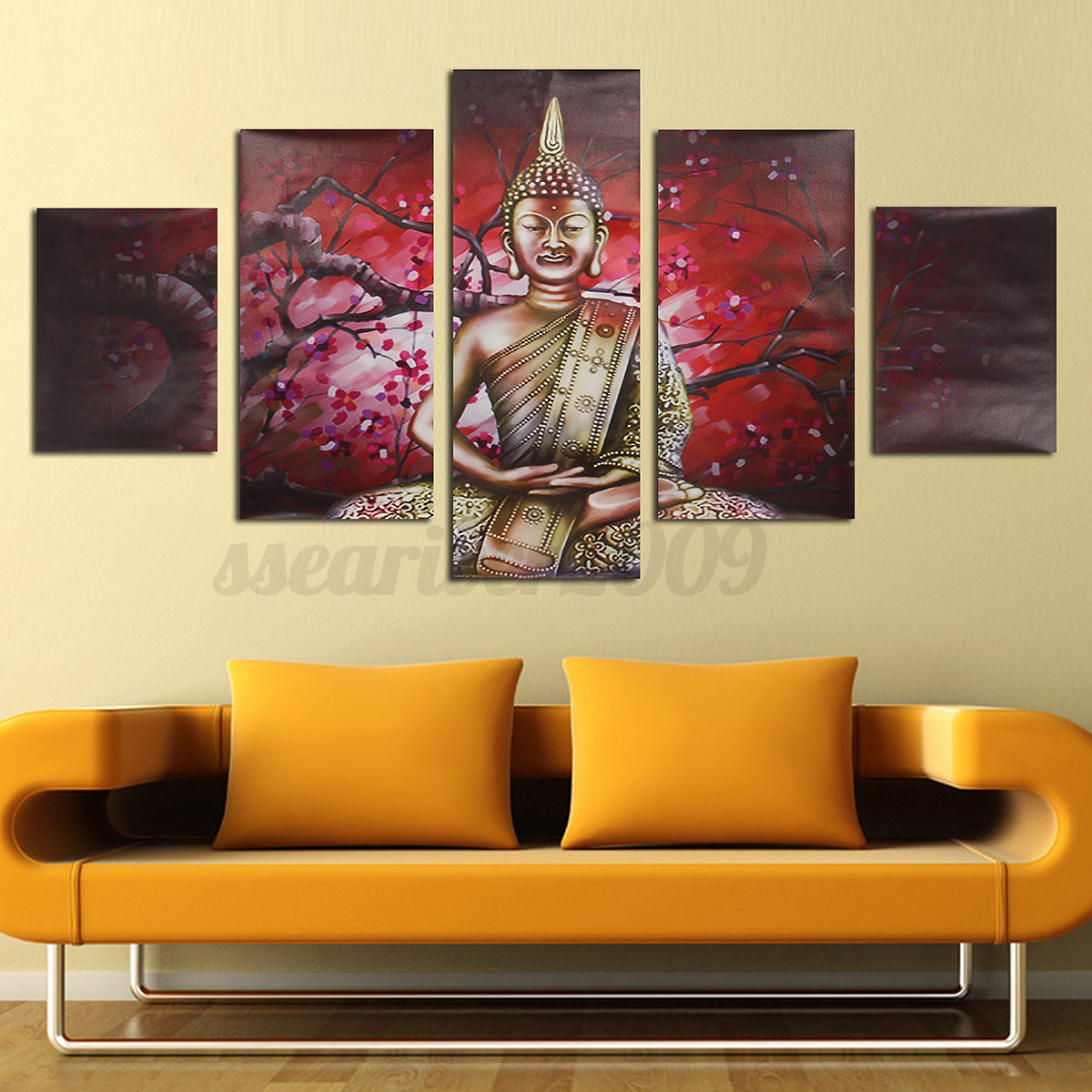 Modern Wall Frame Decor : Pcs modern abstract canvas painting print picture wall