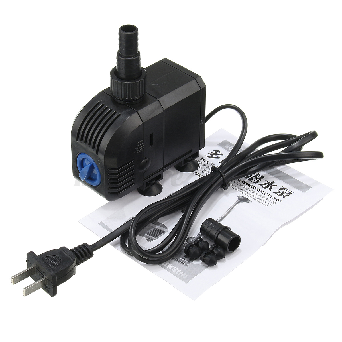 Submersible water pump fish tank aquarium waterfall for Fish water pump