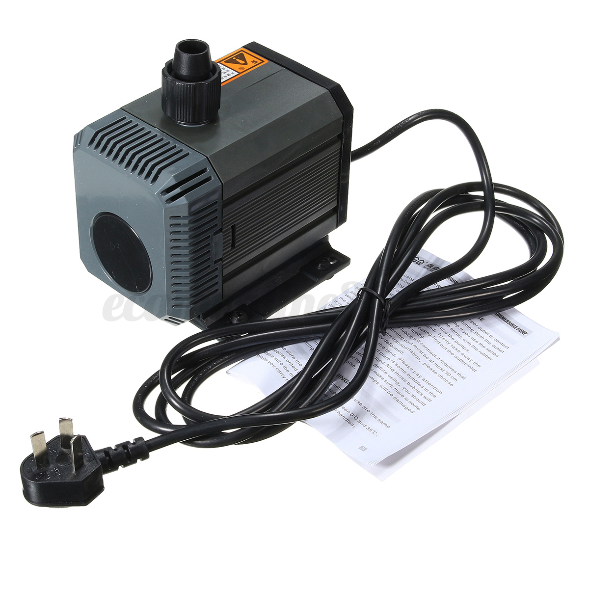 Hqb submersible water pump fish tank aquarium pond pool for Pool pump for koi pond
